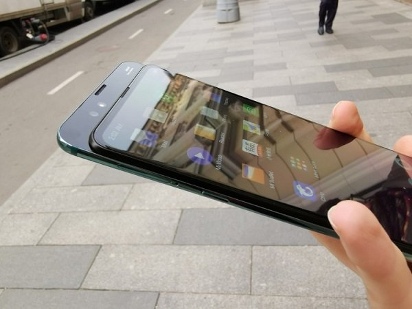 Разложенный смартфон