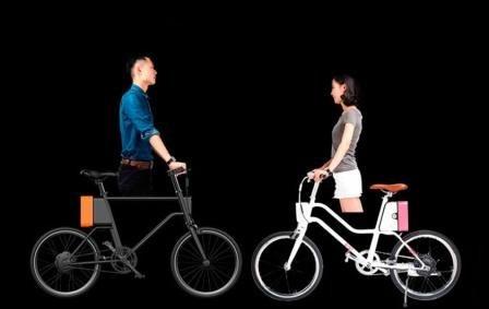 Мужской и женский велосипеды