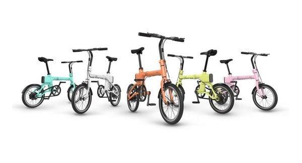 Расцветки велосипедов