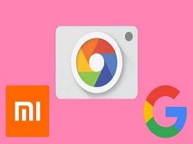 Логотип Гугл камеры и Сяоми